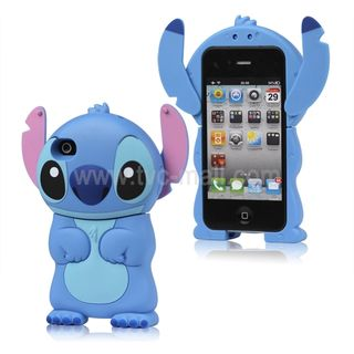 Adorable Apple IPhone Accessories Stitch 4 Case